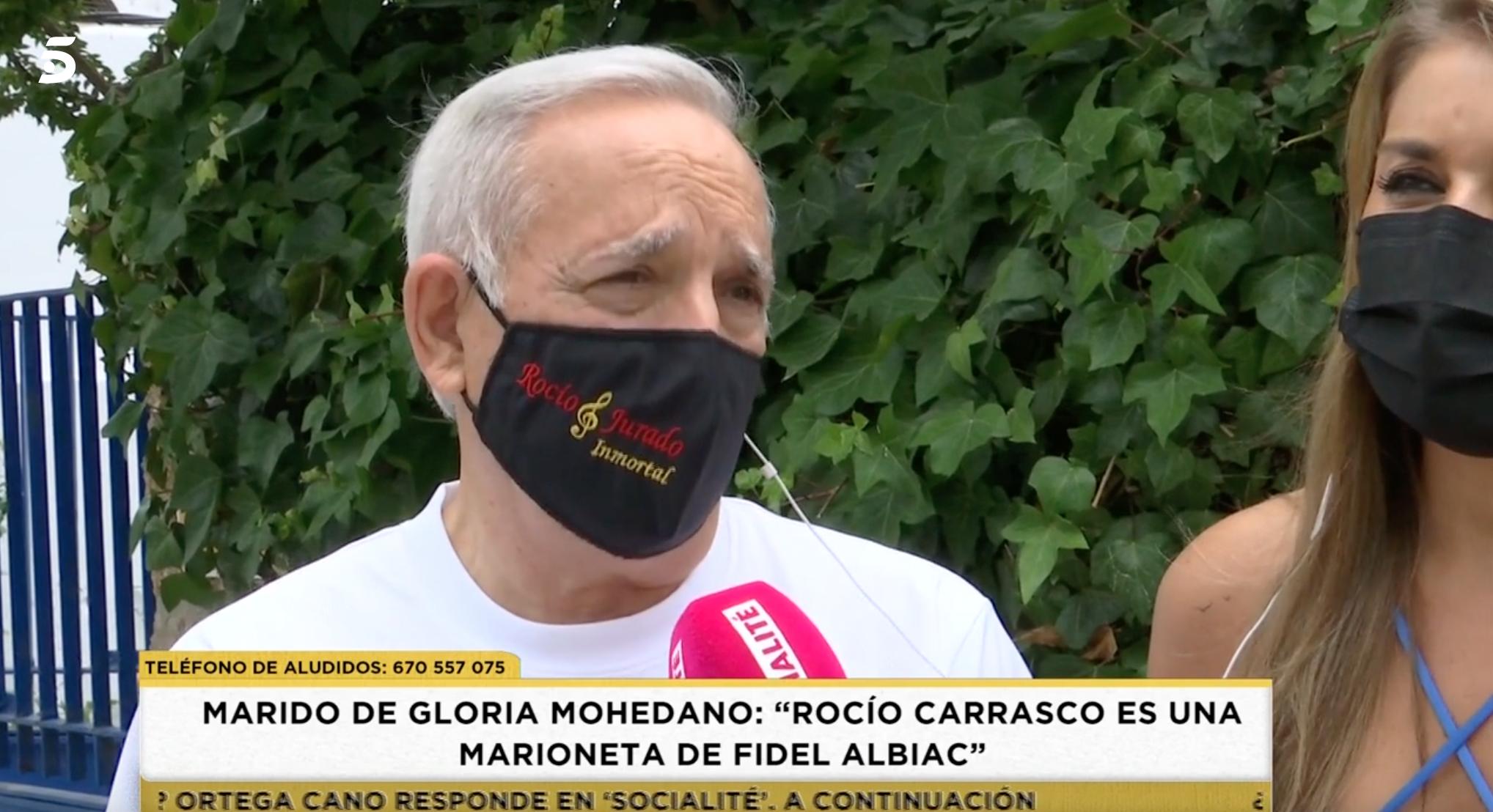 José Antonio, marit de Gloria Mohedano   Telecinco