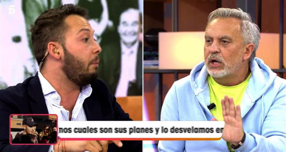 Dos col·laboradors de 'Viva la vida' s'enfronten en una forta discussió - Telecinco