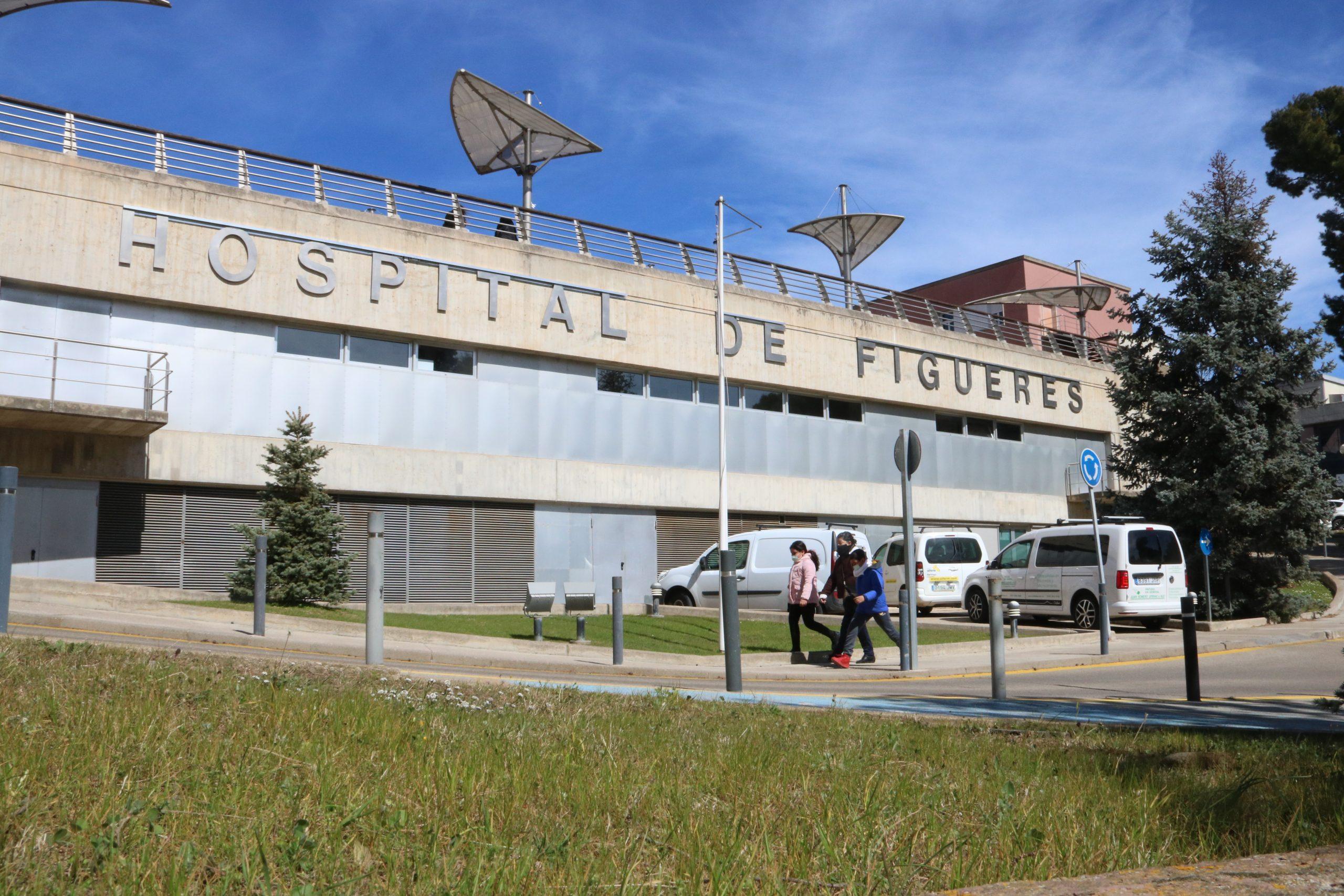 La façana de l'hospital de Figueres | ACN