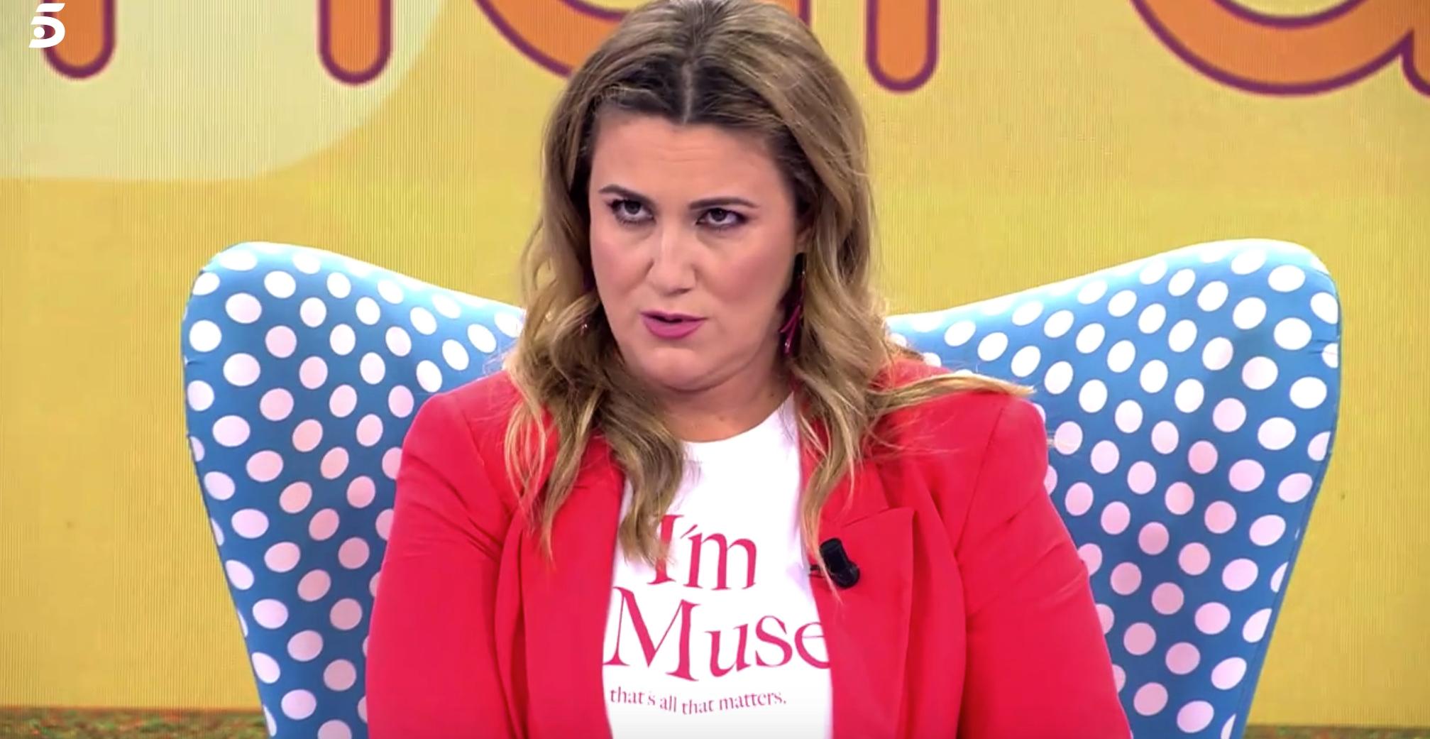 Carlota Corredera, acusada de ser la culpable de la mala audiència de Sálvame / Telecinco