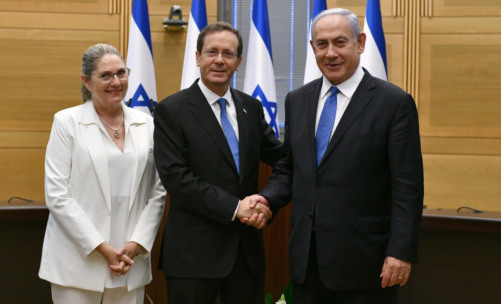 Isaac Herzog escollit nou president d'Israel (Europa Press)
