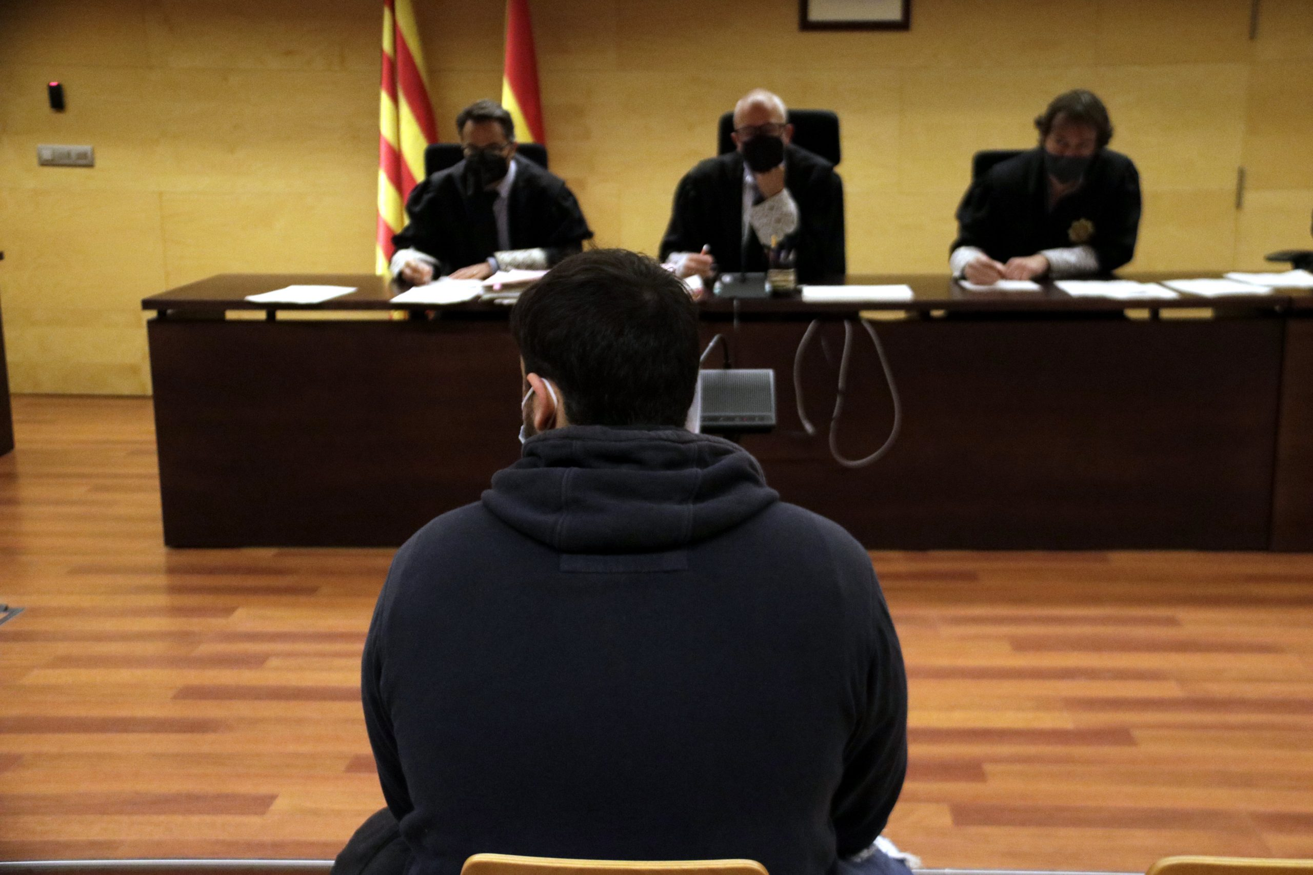 Un acusat de participar als disturbis postsentència a Girona  (ACN)