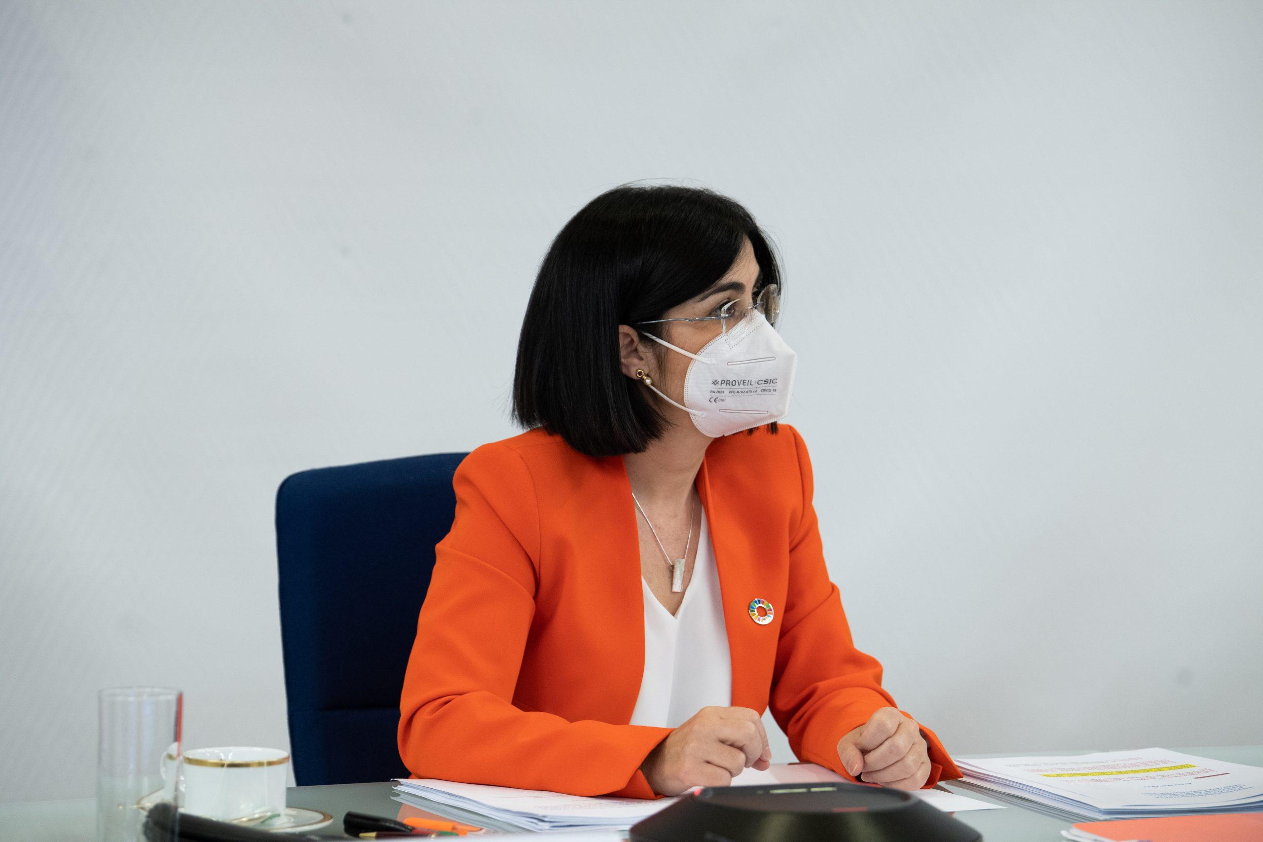 La ministra de Sanitat, Carolina Darias | ACN