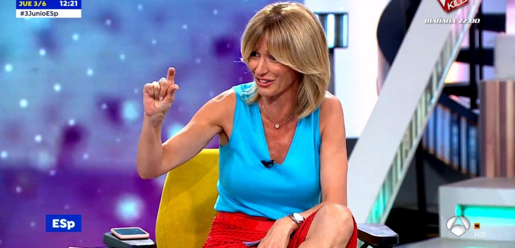 Susanna Griso explica l'accident que va viure de petita - Antena 3