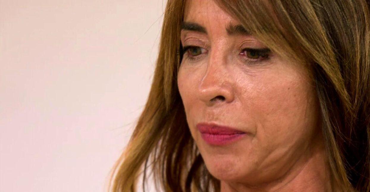 María Patiño, afectada en directe - Telecinco