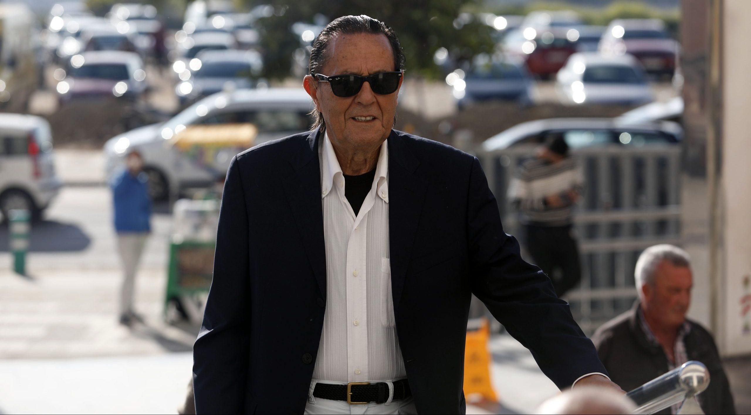 Julián Muñoz, en els jutjats de Màlaga - Europa Press