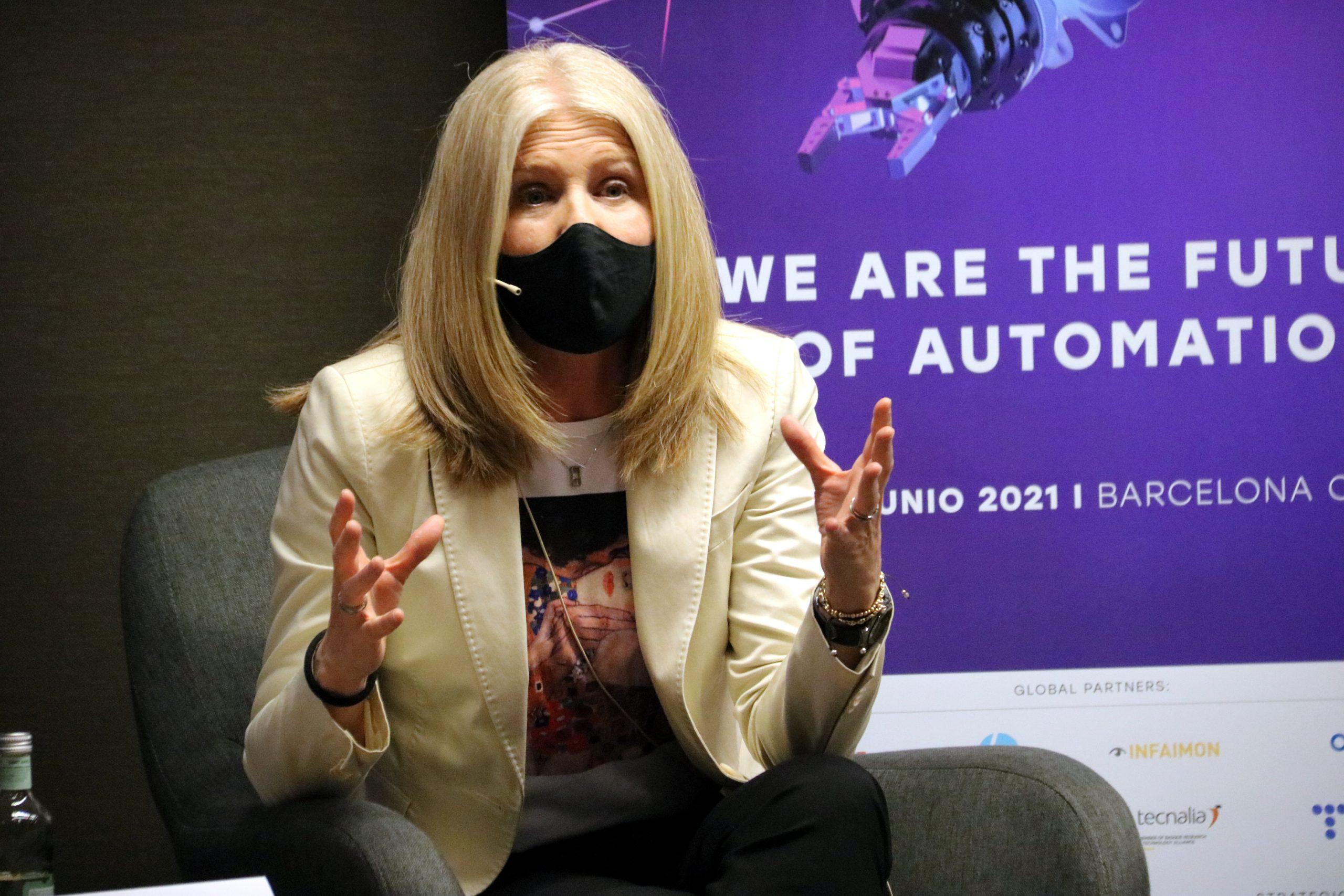 La directora general d'indústria, Matilde Villarroya (ACN)