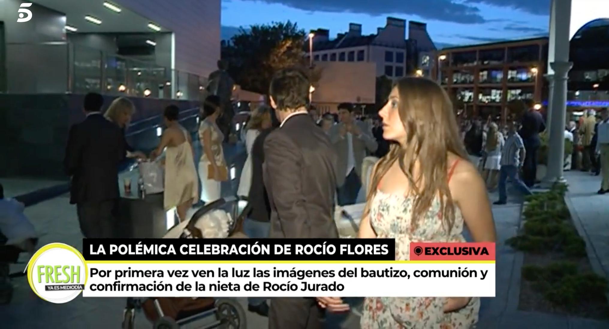 Antonio David Flores i Rocío Flores el dia de la comunitat d'ella | Telecinco