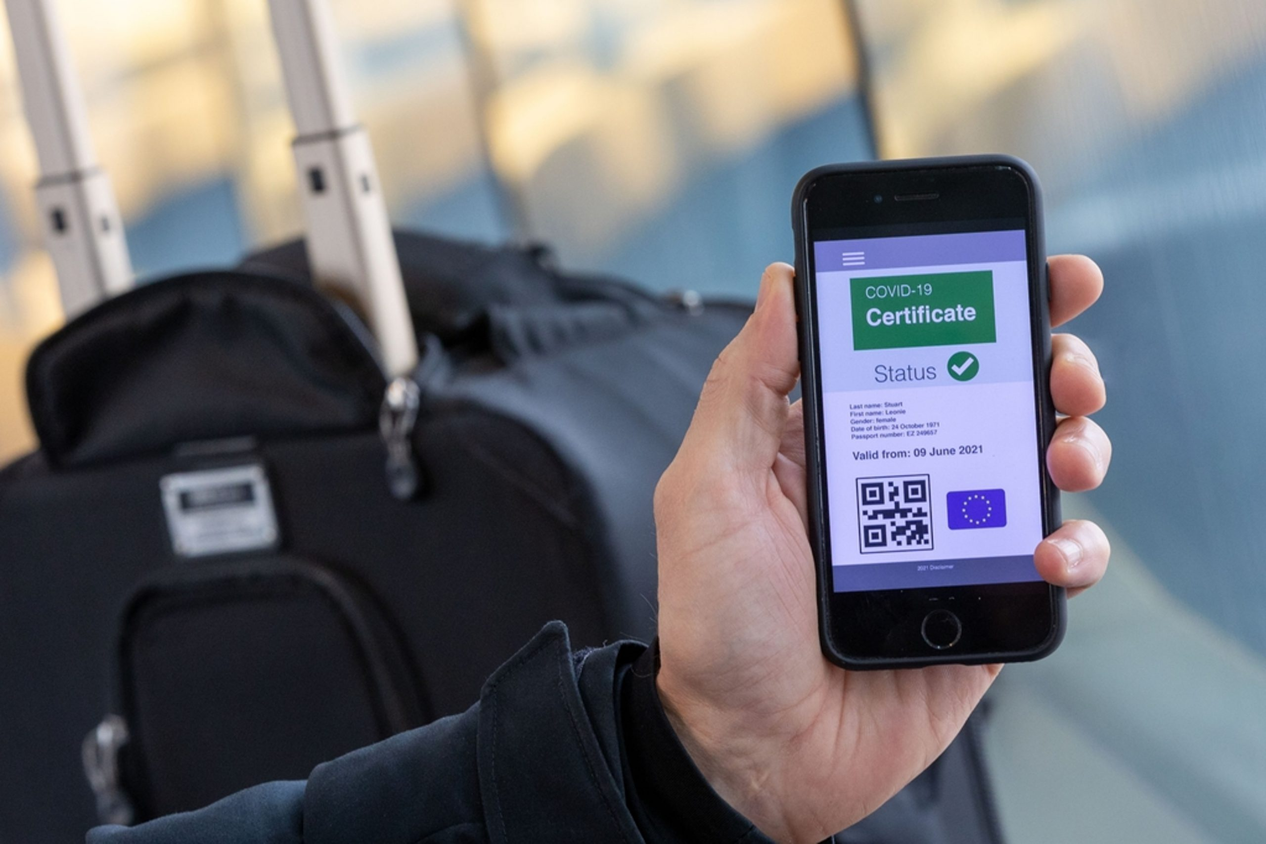 Pla detall d'un passaport sanitari | ACN