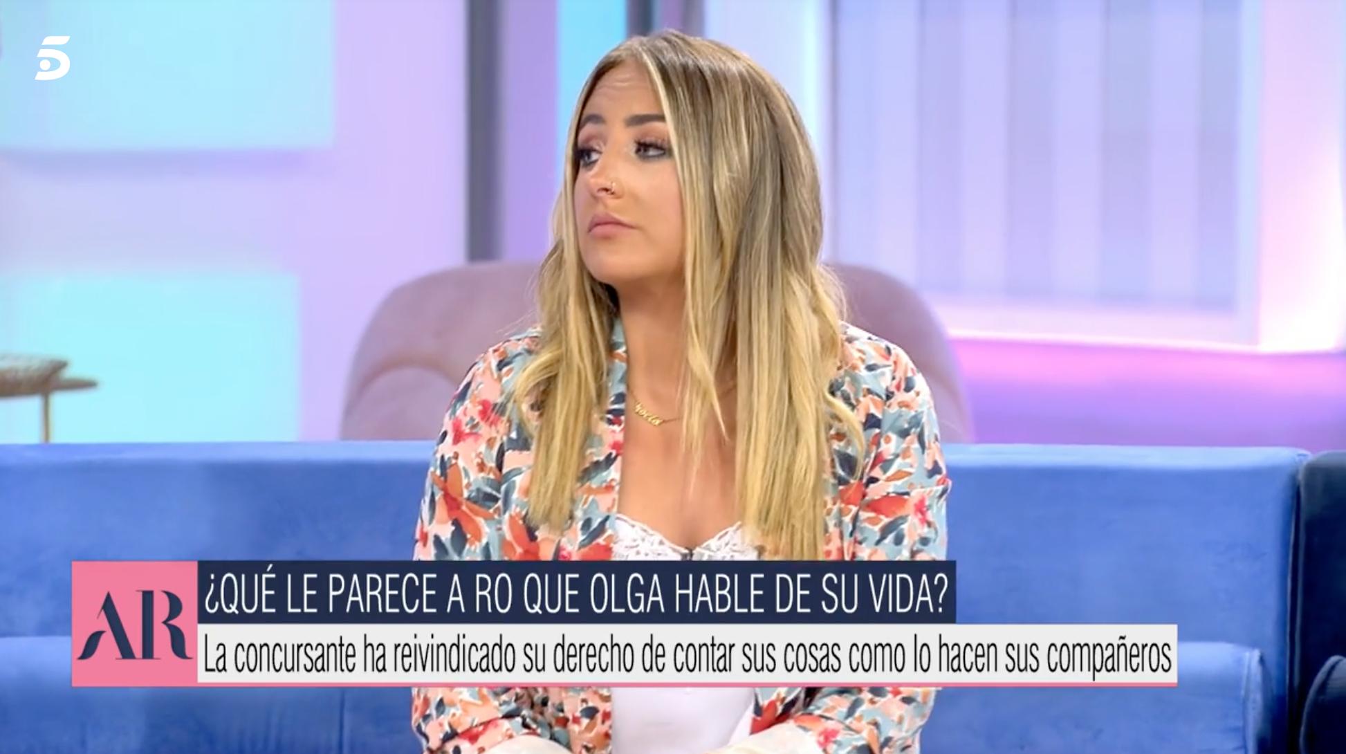 Rocío Flores a 'El Programa de Ana Rosa'   Telecinco