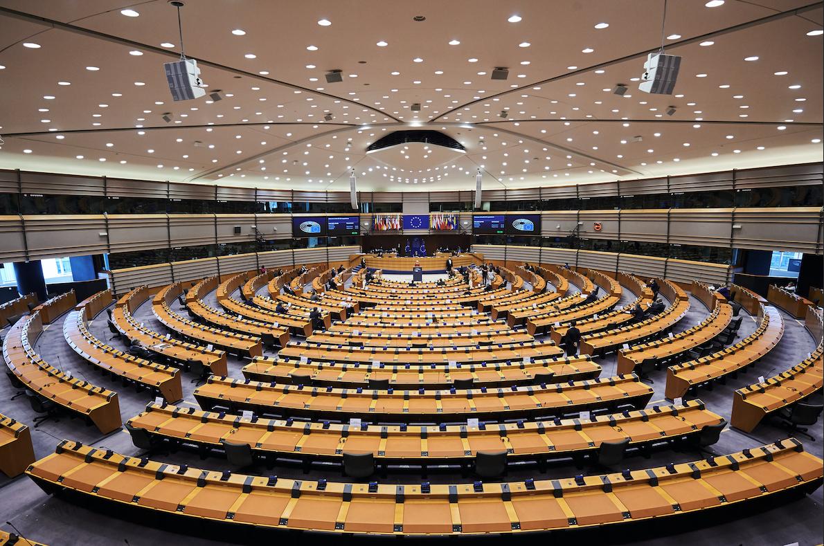 Pla general del ple de l'Eurocambra | ACN