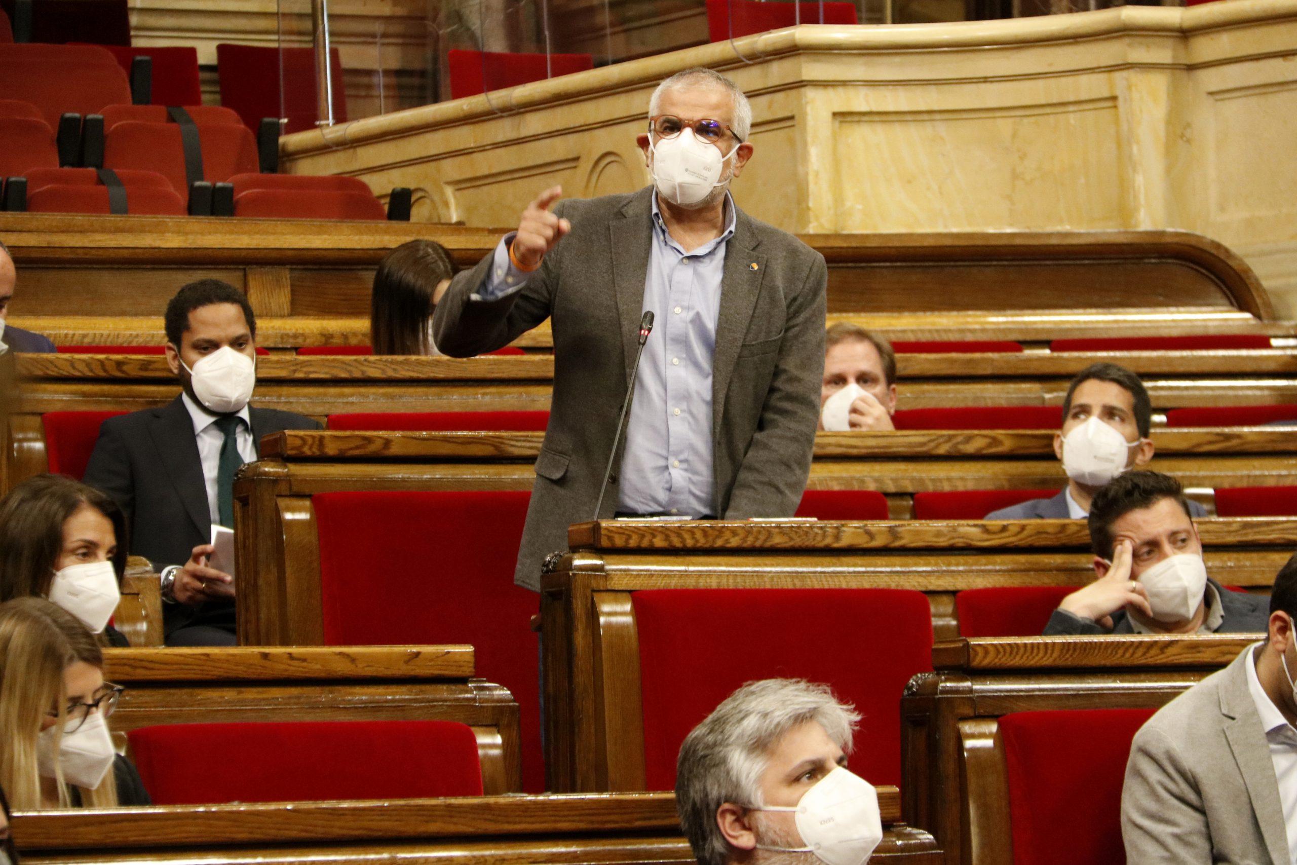 El president de Cs al Parlament, Carlos Carrizosa | ACN