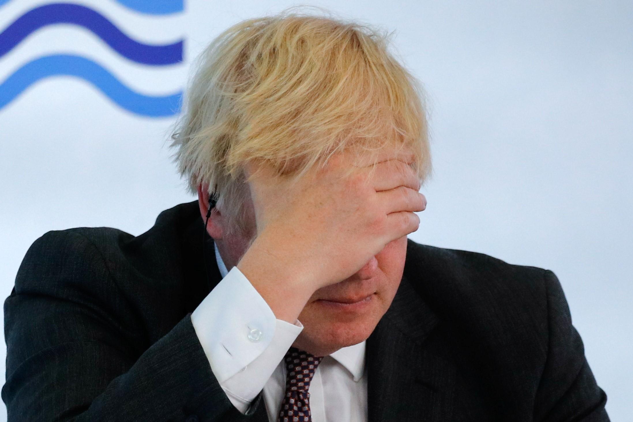 Boris Johnson a la cimera del G7 | Europa Press