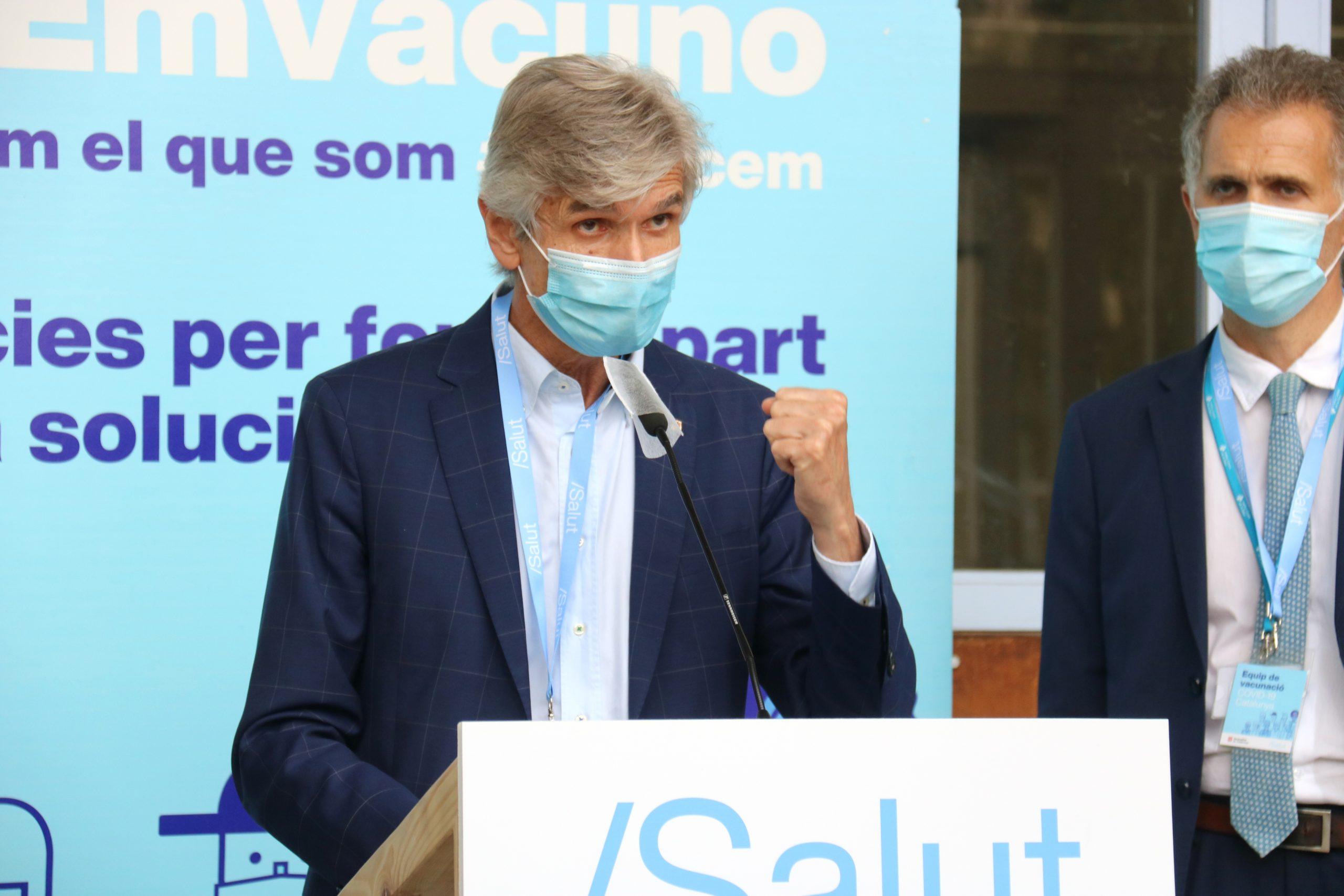 El conseller de Salut, Josep Maria Argimon / ACN