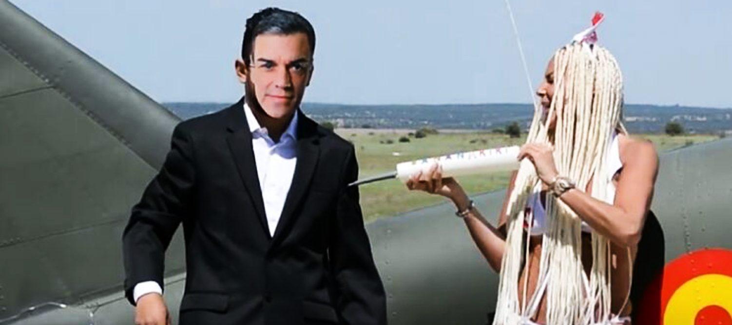 Leticia Sabater vacuna Pedro Sánchez en el seu videoclip - Youtube