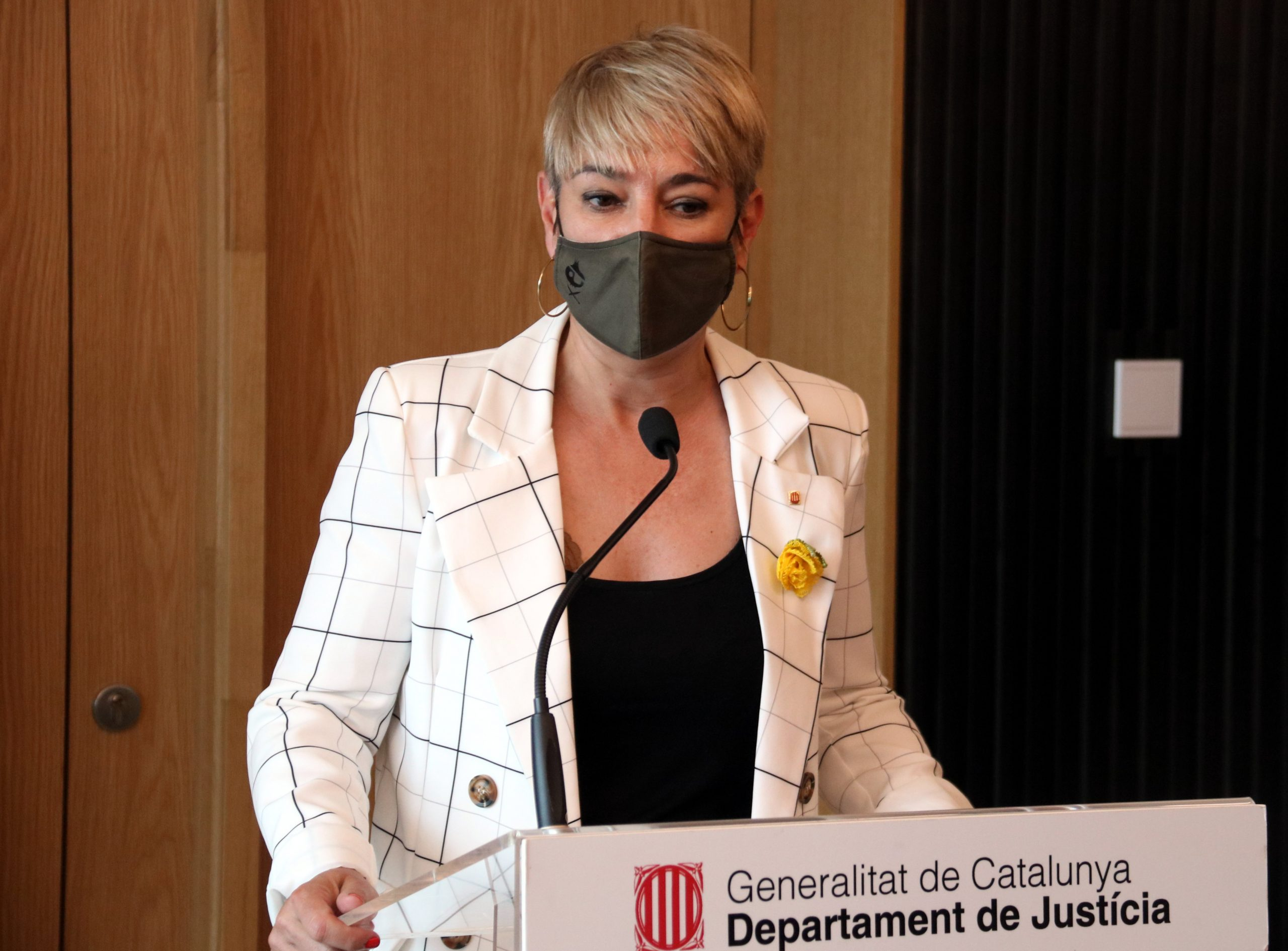 La consellera de Justícia, Lourdes Ciuró | ACN