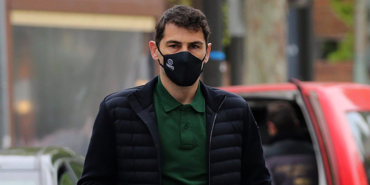 Iker Casillas, enxampat pels fotògrafs - Europa Press