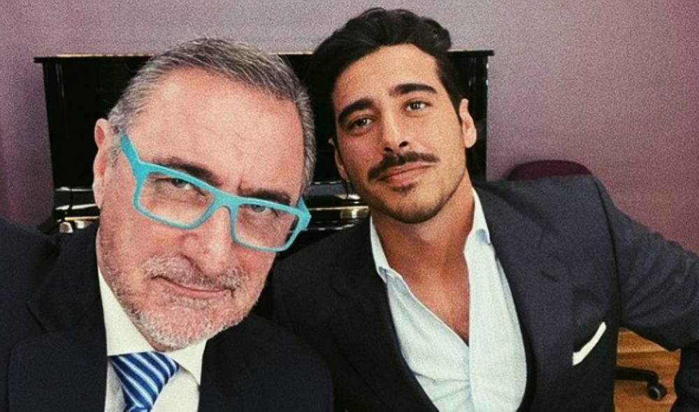 Carlos Herrera i el seu fill Alberto - Instagram
