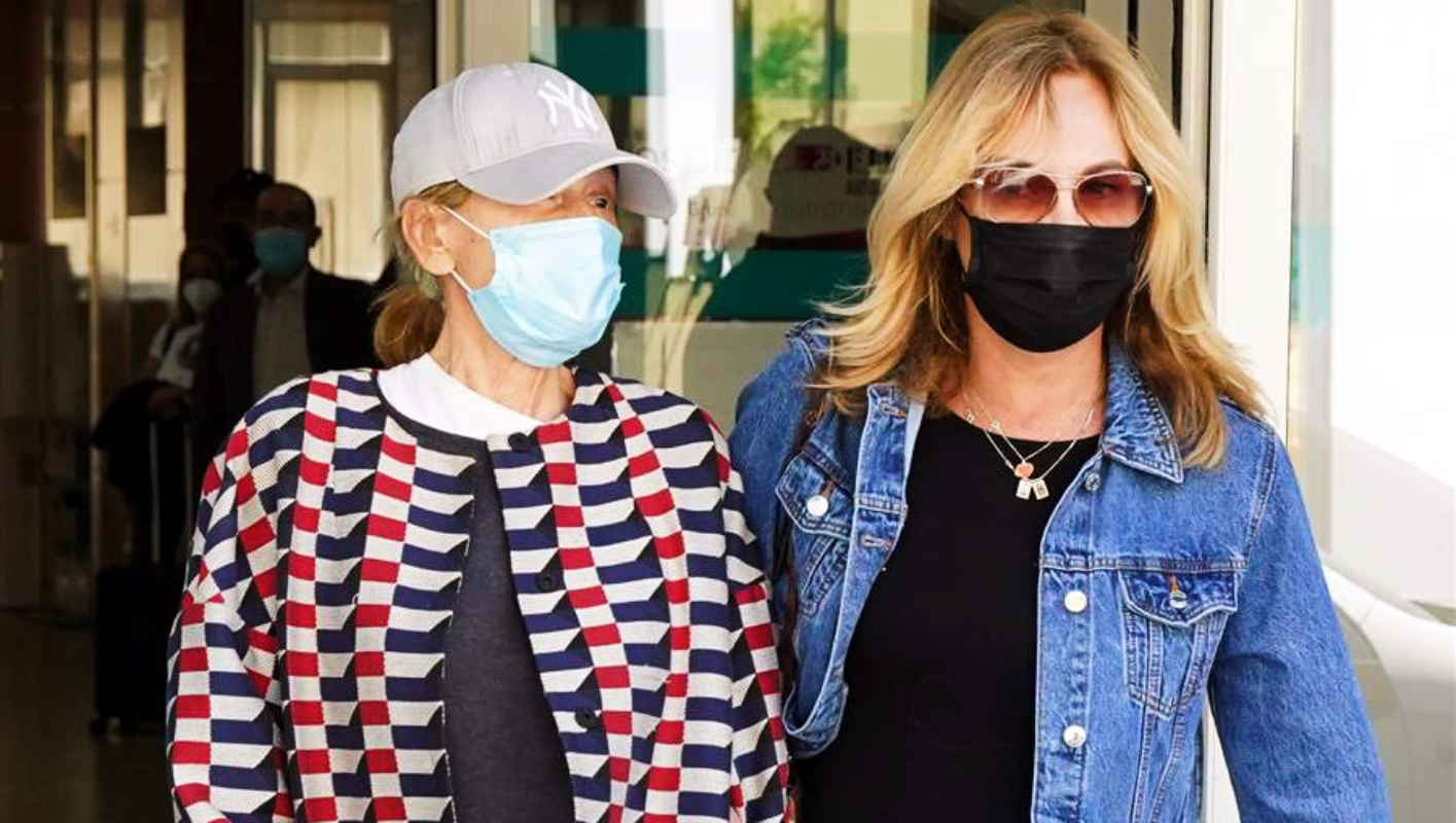 Mila Ximénez surt de l'hospital acompanyada d'una amiga - Europa Press