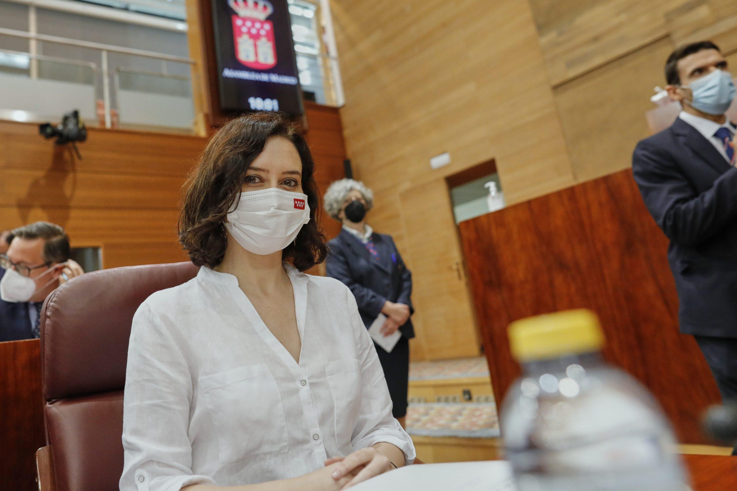 La presidenta en funcions de la Comunitat de Madrid, Isabel Díaz Ayuso (Europa Press)