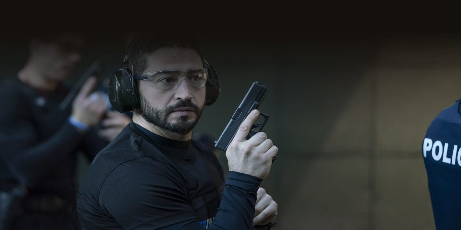 Una imatge de l'empresa Milo que té tots els números per vendre el simulador de tir als Mossos/MILO