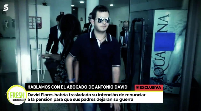 David Flores, disposat a retirar la demanda contra la mare - Telecinco
