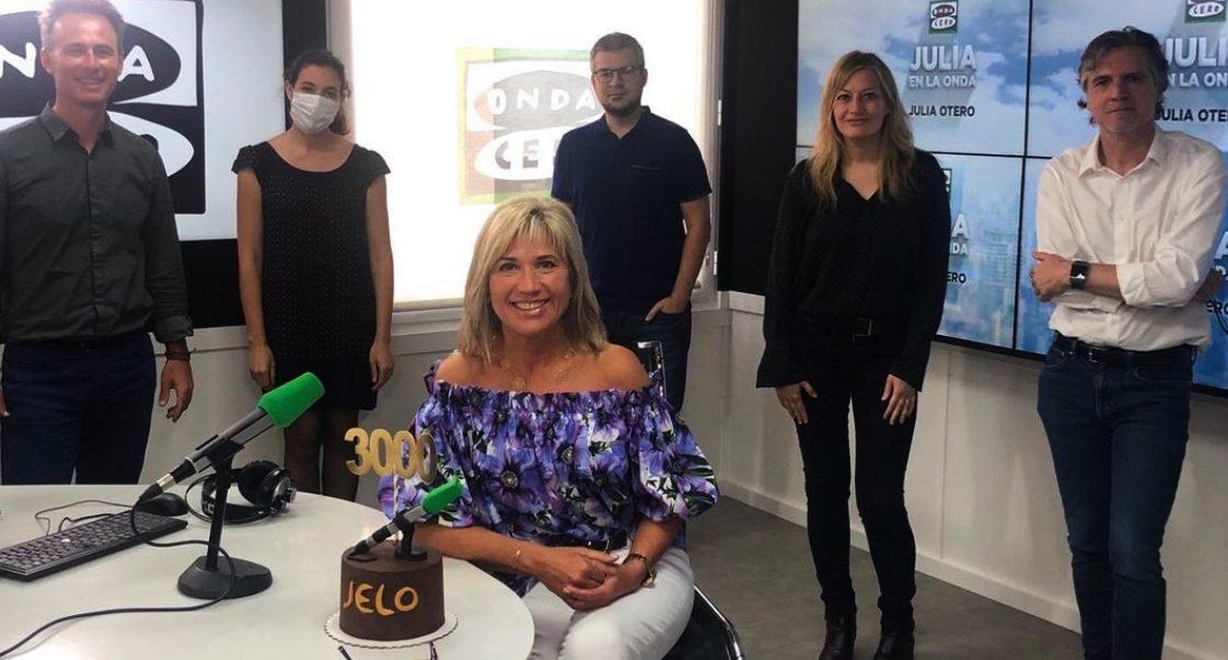 Julia Otero torna a la ràdio - Instagram