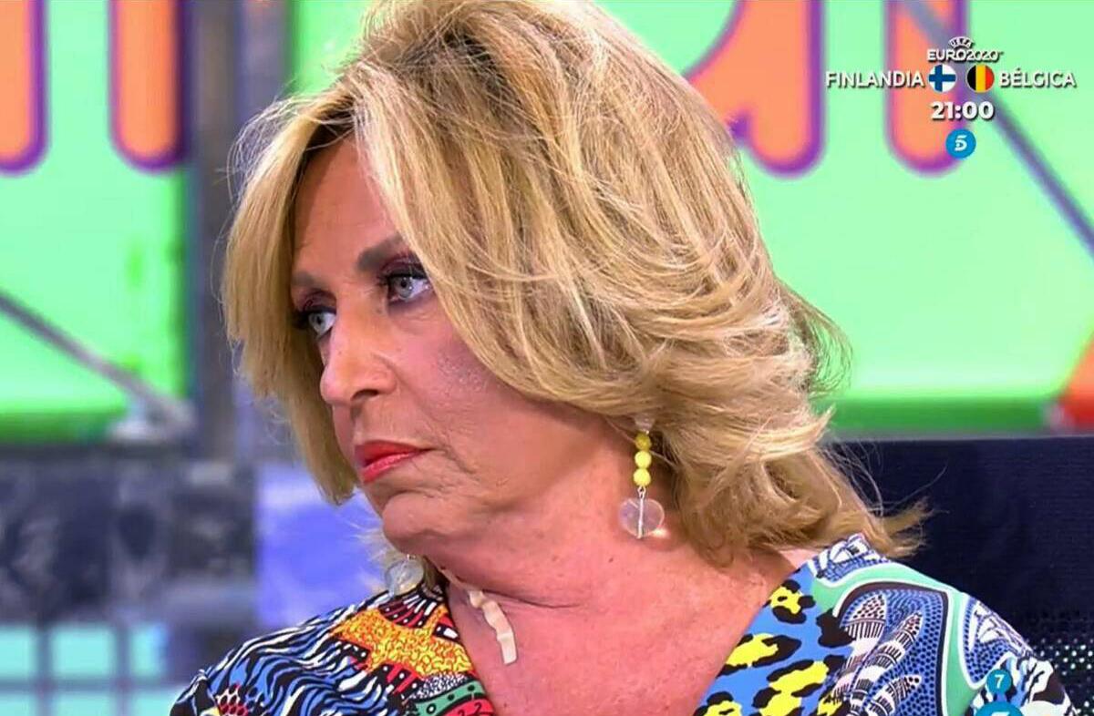 Lydia Lozano, molt afectada en directe - Telecinco