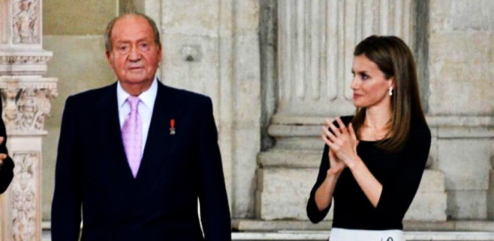 Joan Carles i Letícia en un acte junts - Europa Press