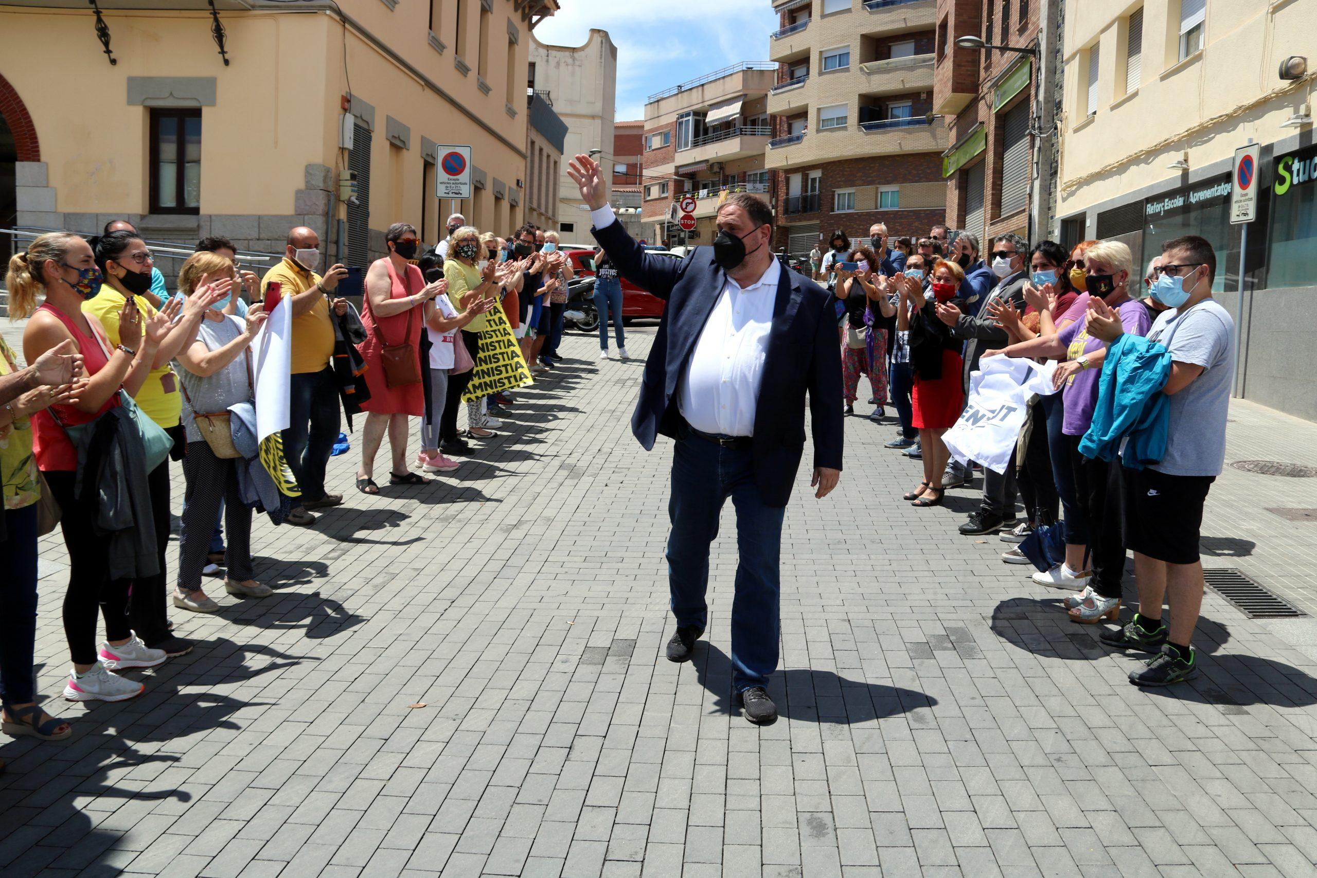 Benvinguda dels veïns de Sant Vicenç dels Horts / ACN