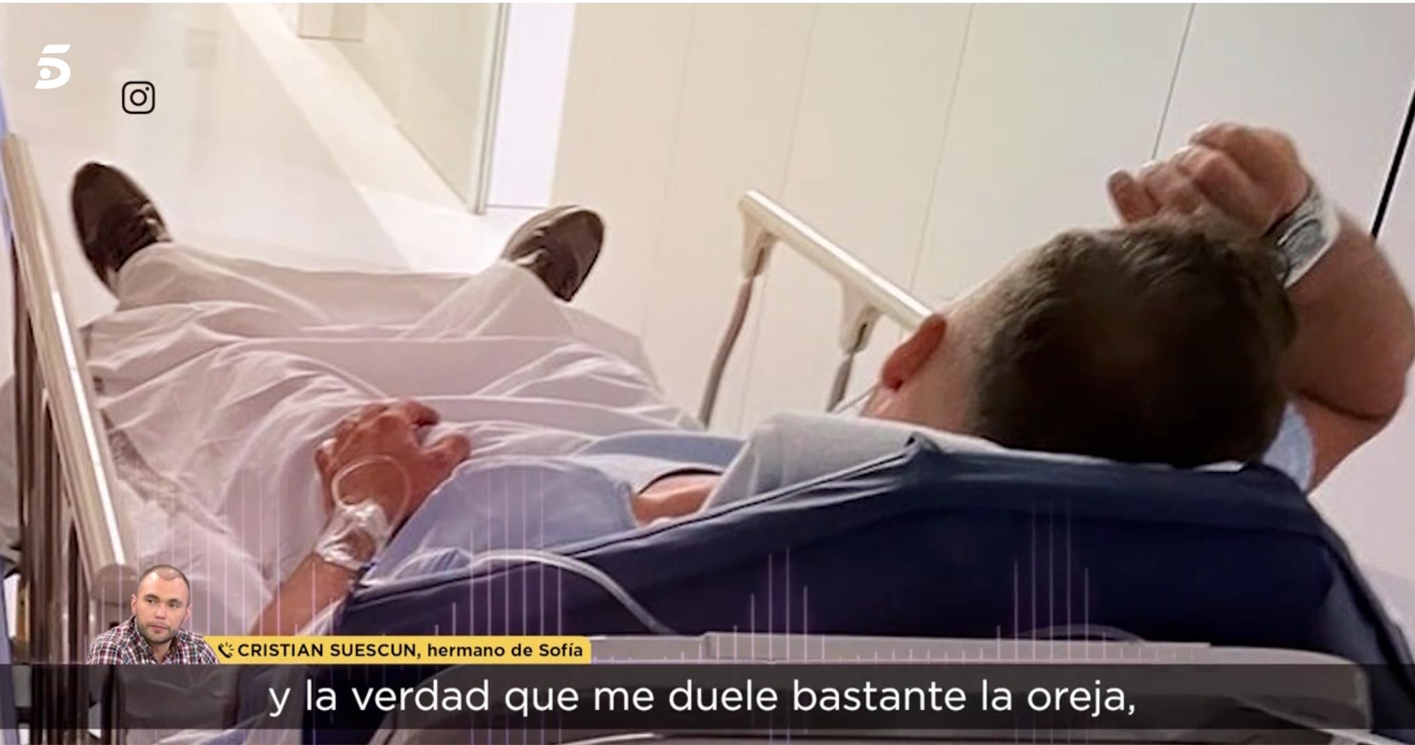 Cristian Suescun a l'hospital | Telecinco