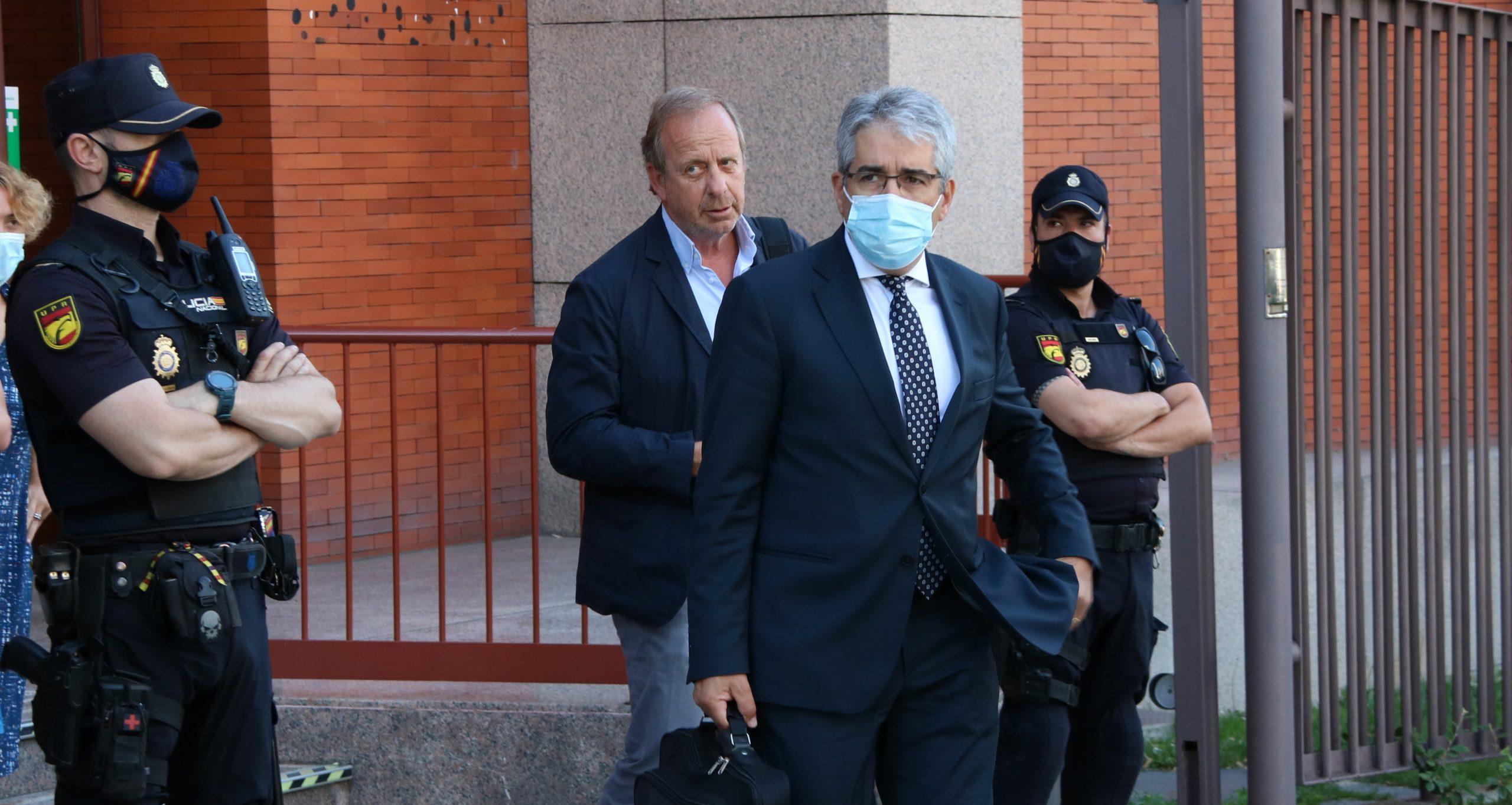 L'exconseller i advocat Francesc Homs a la sortida del Tribunal de Comptes, el 29 de juny de 2021 / ACN