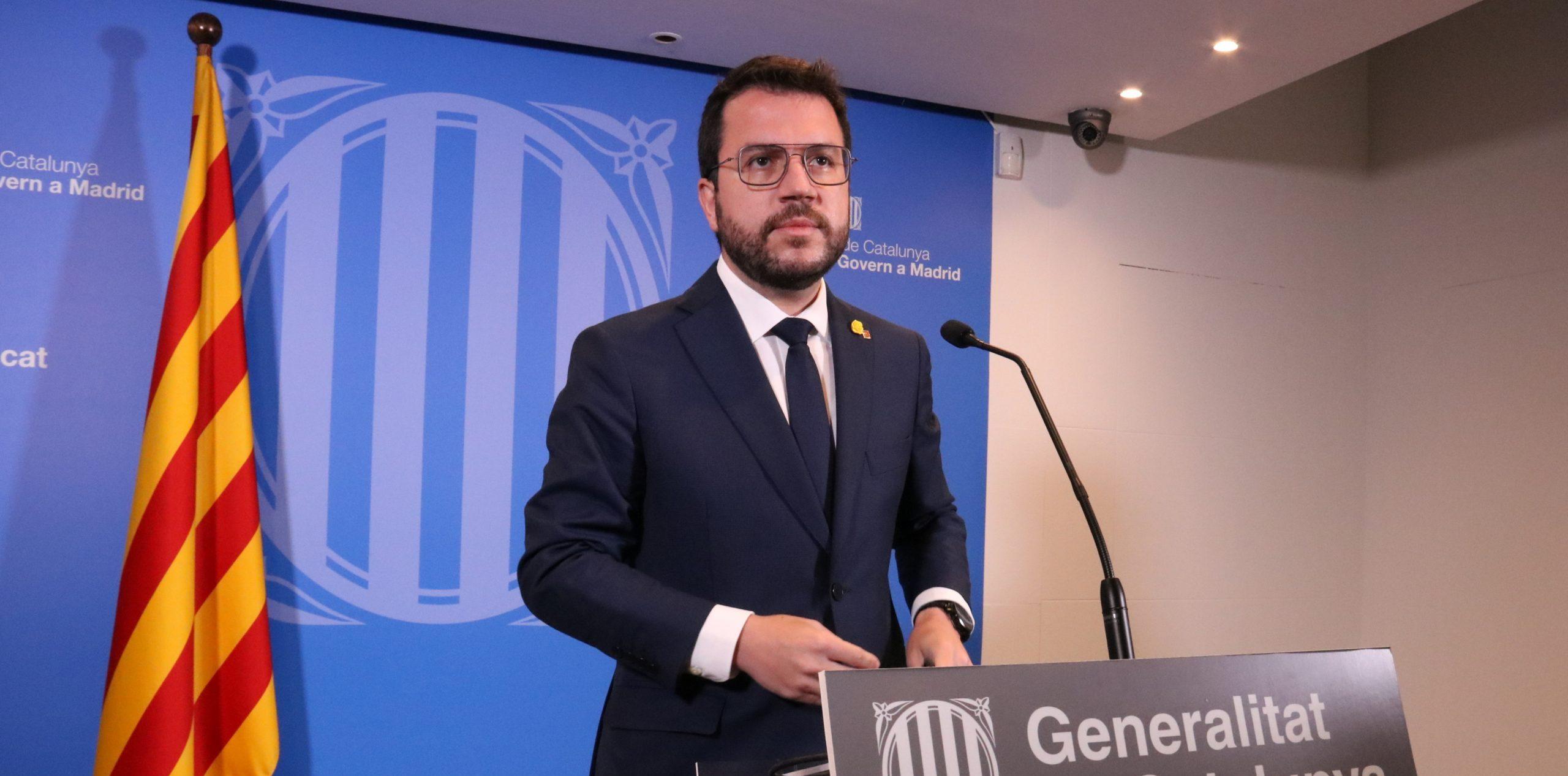 El president de la Generalitat, Pere Aragonès / ACN