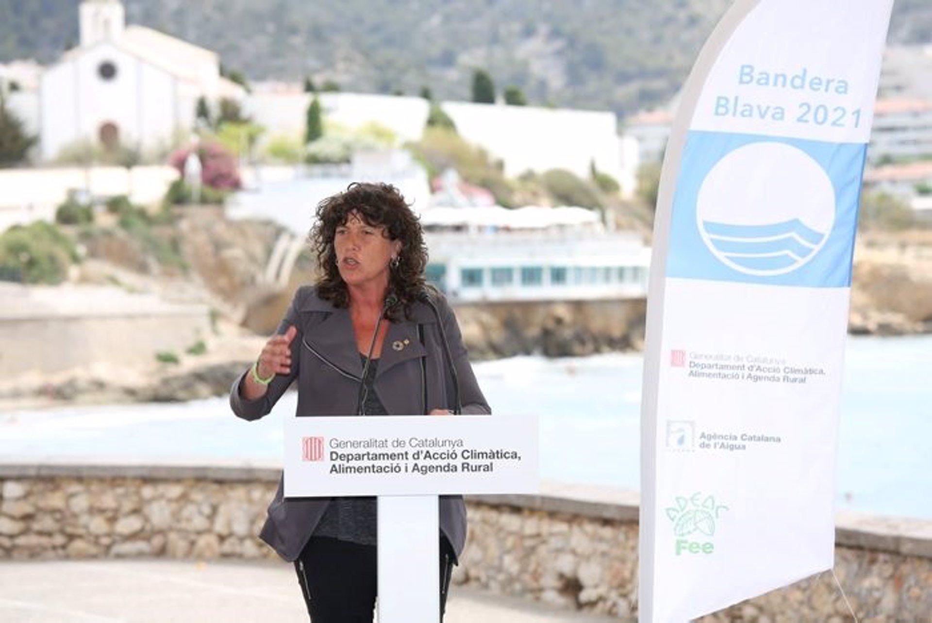 La consellera d'Acció Climàtica, Alimentació i Agenda Rural Teresa Jordà / Generalitat de Catalunya