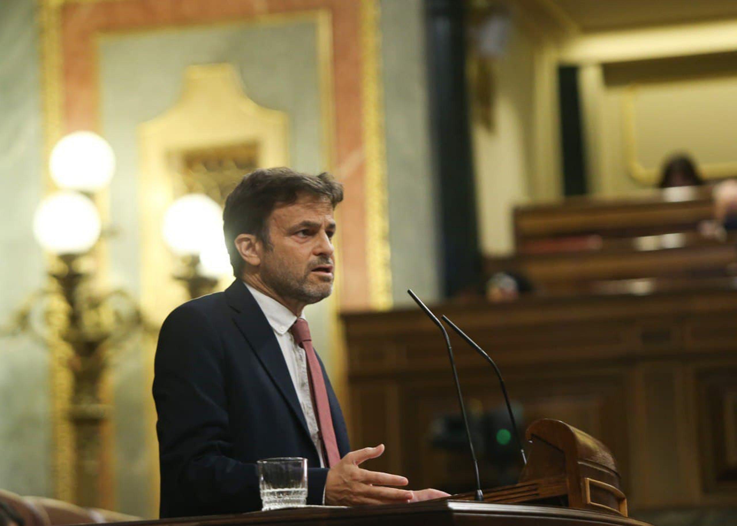 El president del grup de Podem al Congrés, Jaume Asens | ACN