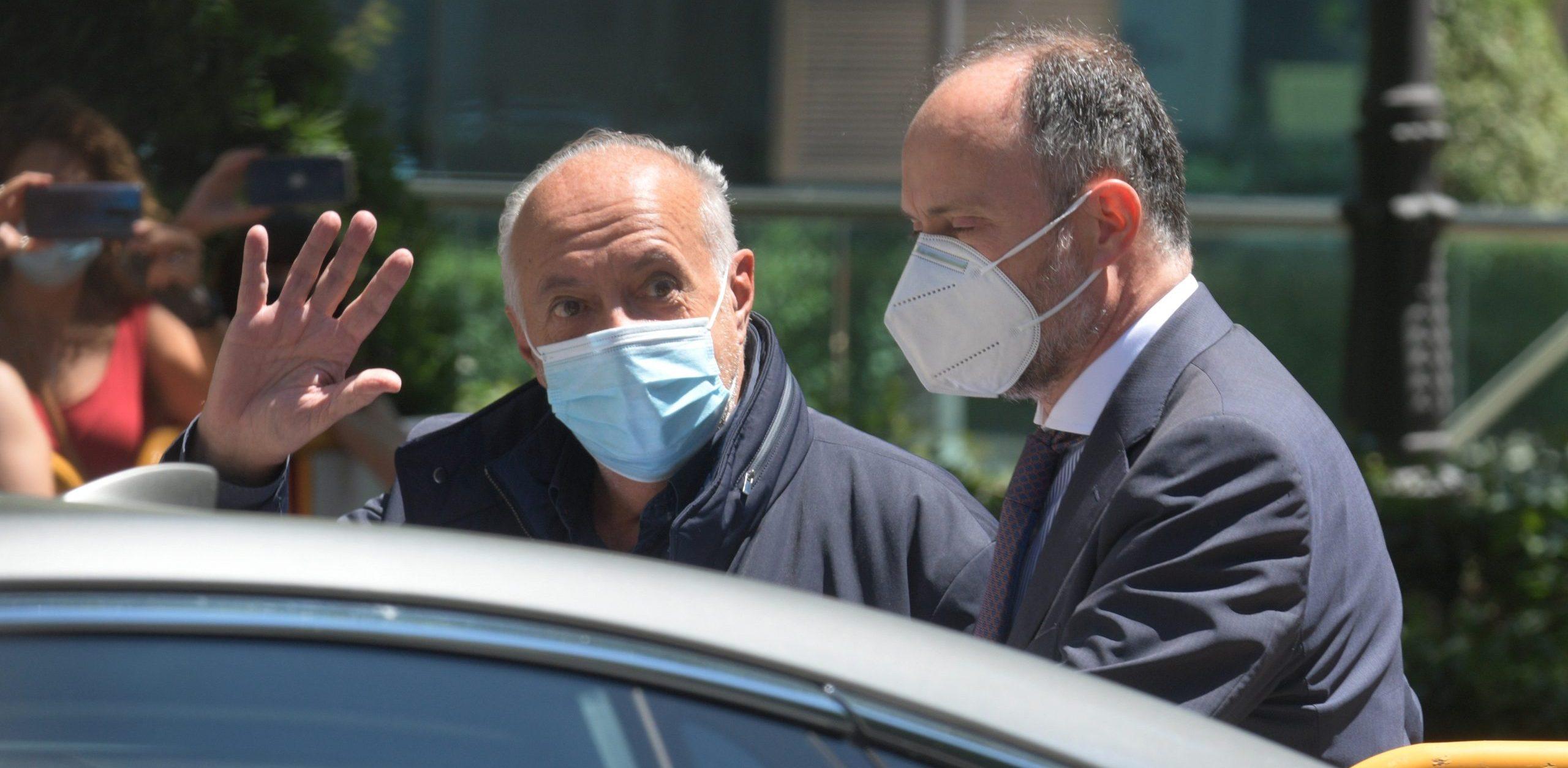 José Luis Moreno surt de l'Audiència Nacional | Europa Press