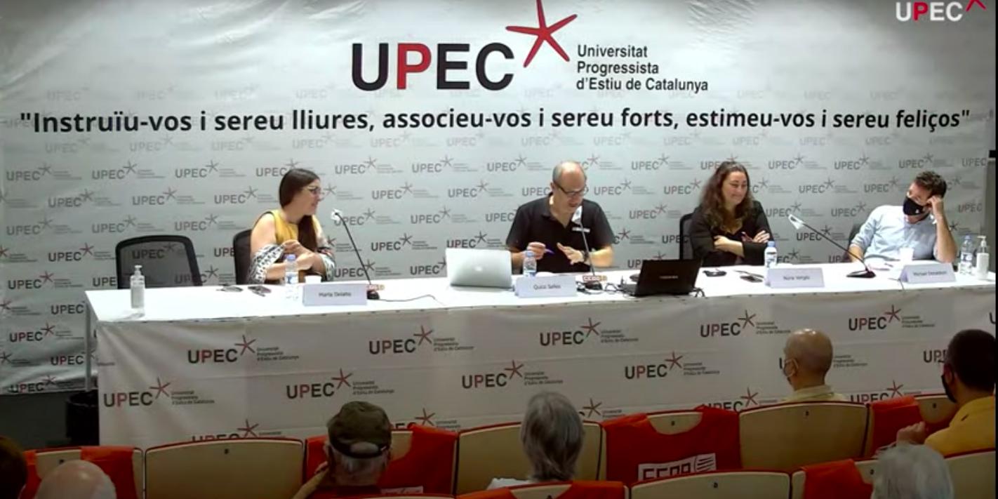 Col·loqui de la segona sessió de l'edició del 2021 de la UPEC