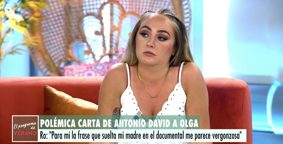 Rocío Flores defensa la madrastra a 'El Programa de Ana Rosa' - Telecinco