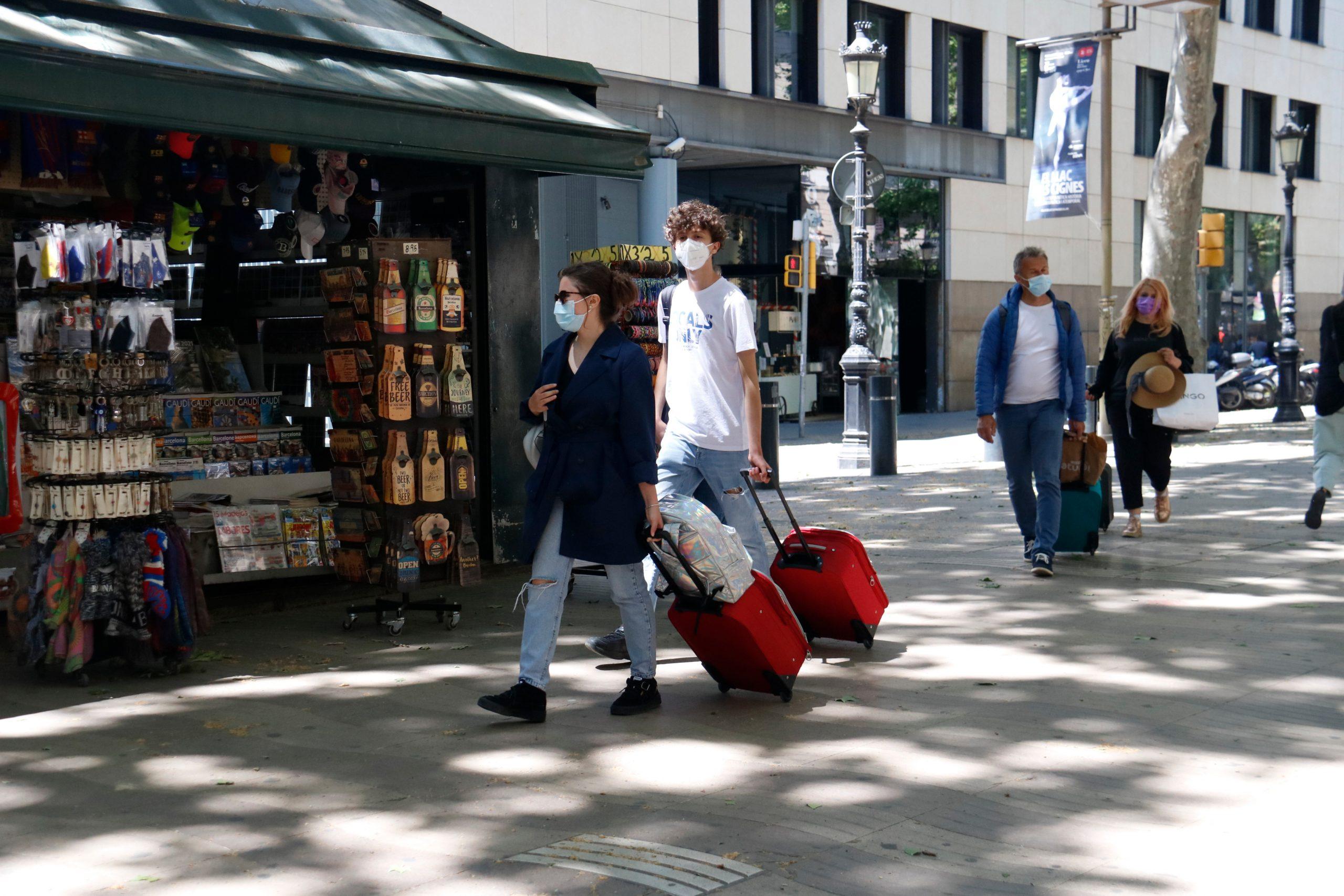 Turistes a Barcelona   ACN