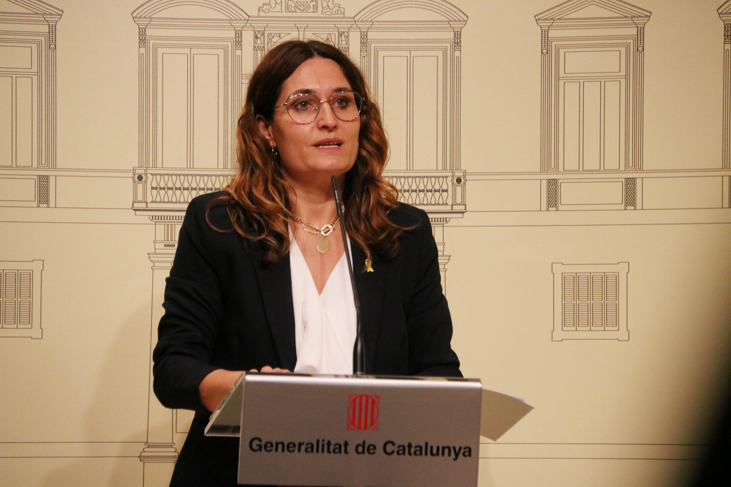 Laura Vilagrà, consellera de Presidència | ACN