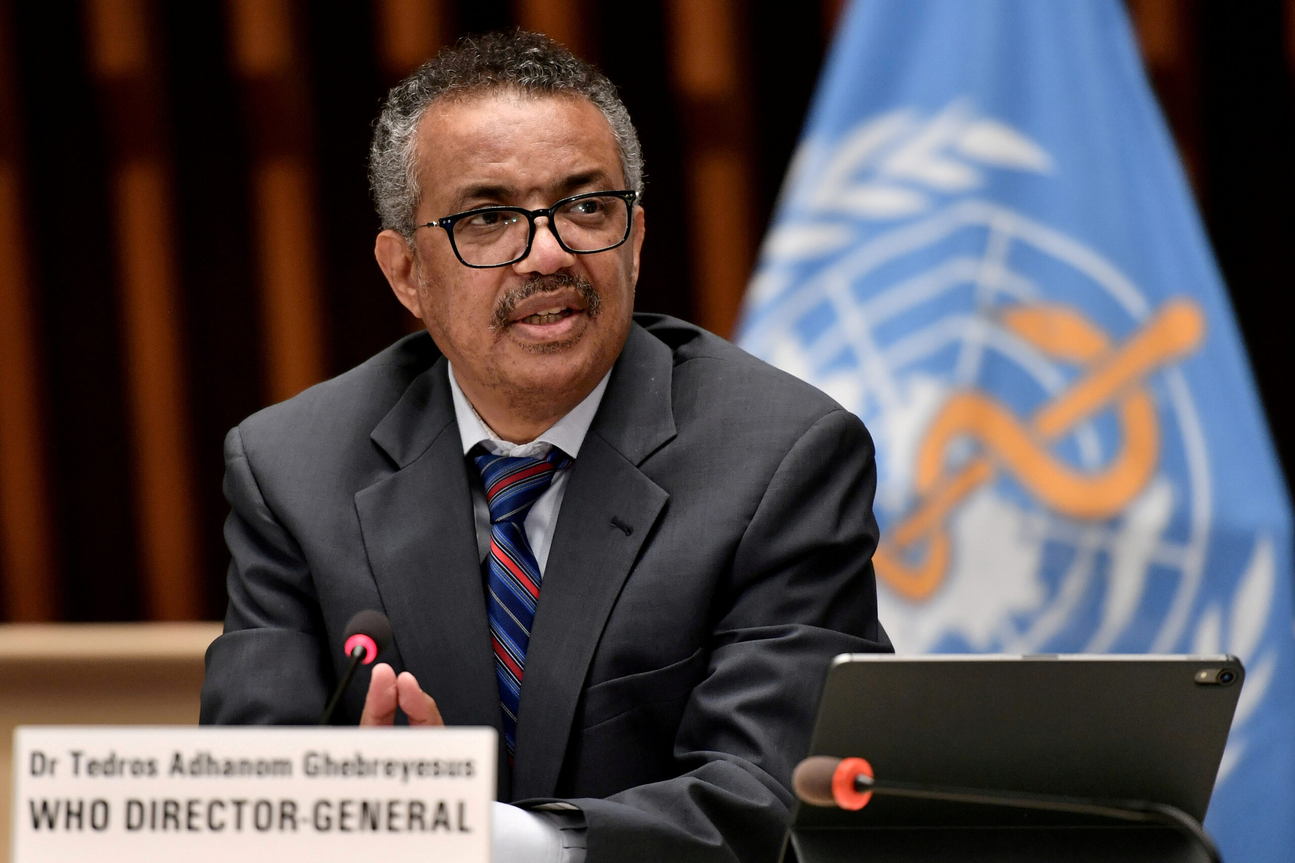 El director general de la OMS Tedros Adhanom Ghebreyesus / REUTERS