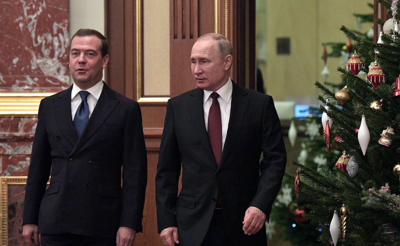 Dmitri Medvédev i Vladímir Putin / Europa Press