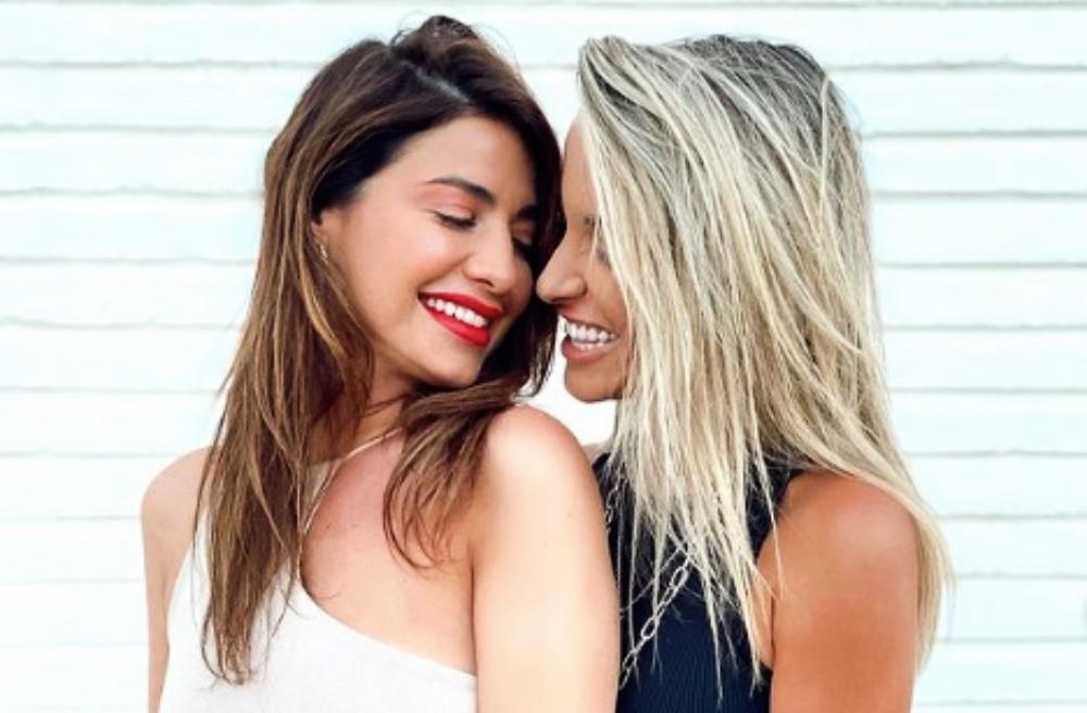 Ares Teixidó i Bruna, juntes a Instagram