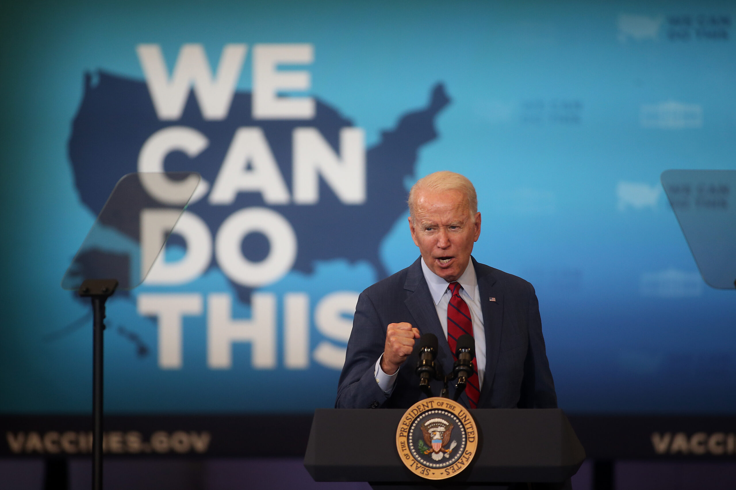Joe Biden en una visita recent a Carolina del Nord / EP