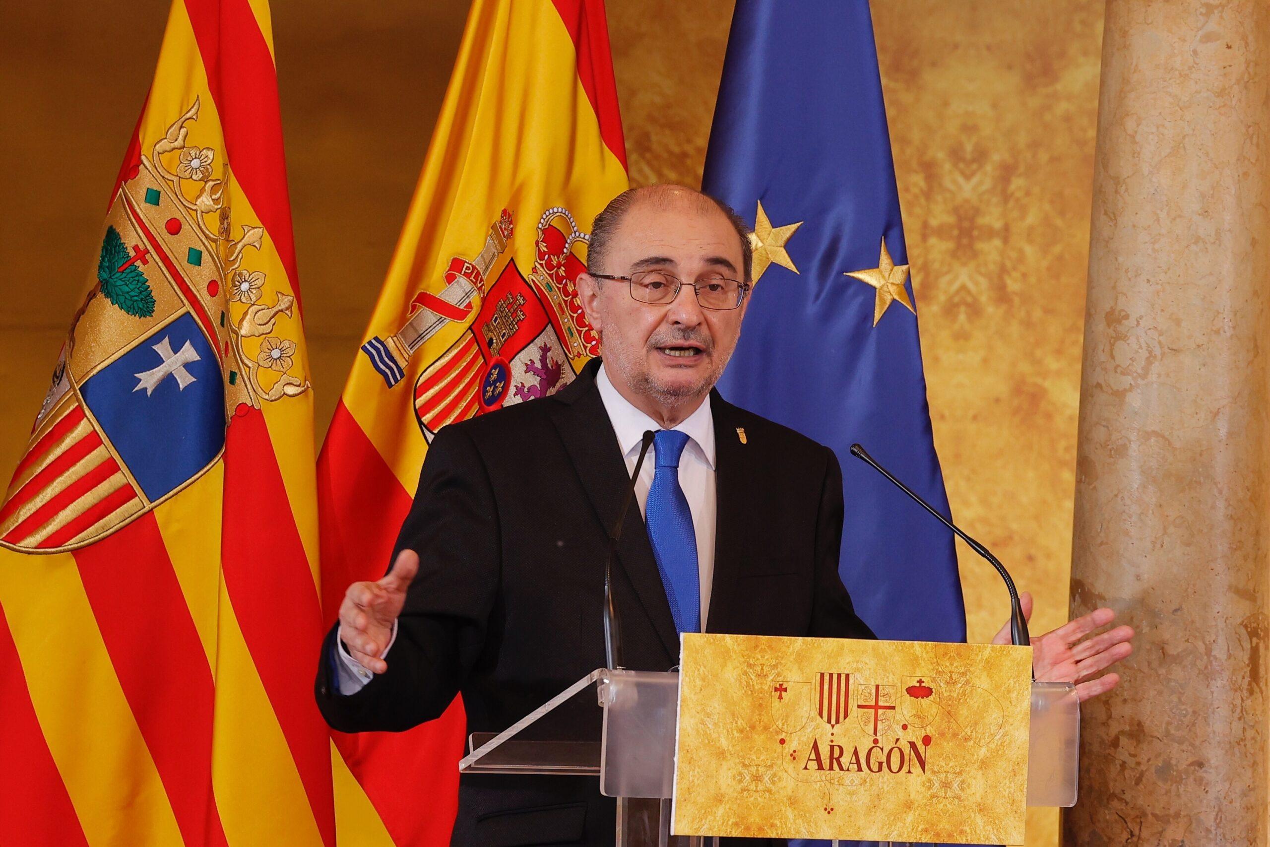 El president del govern d'Aragó, Javier Lambán / EUROPA PRESS