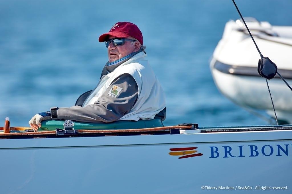 Joan Carles de Borbó navegant | Europa Press