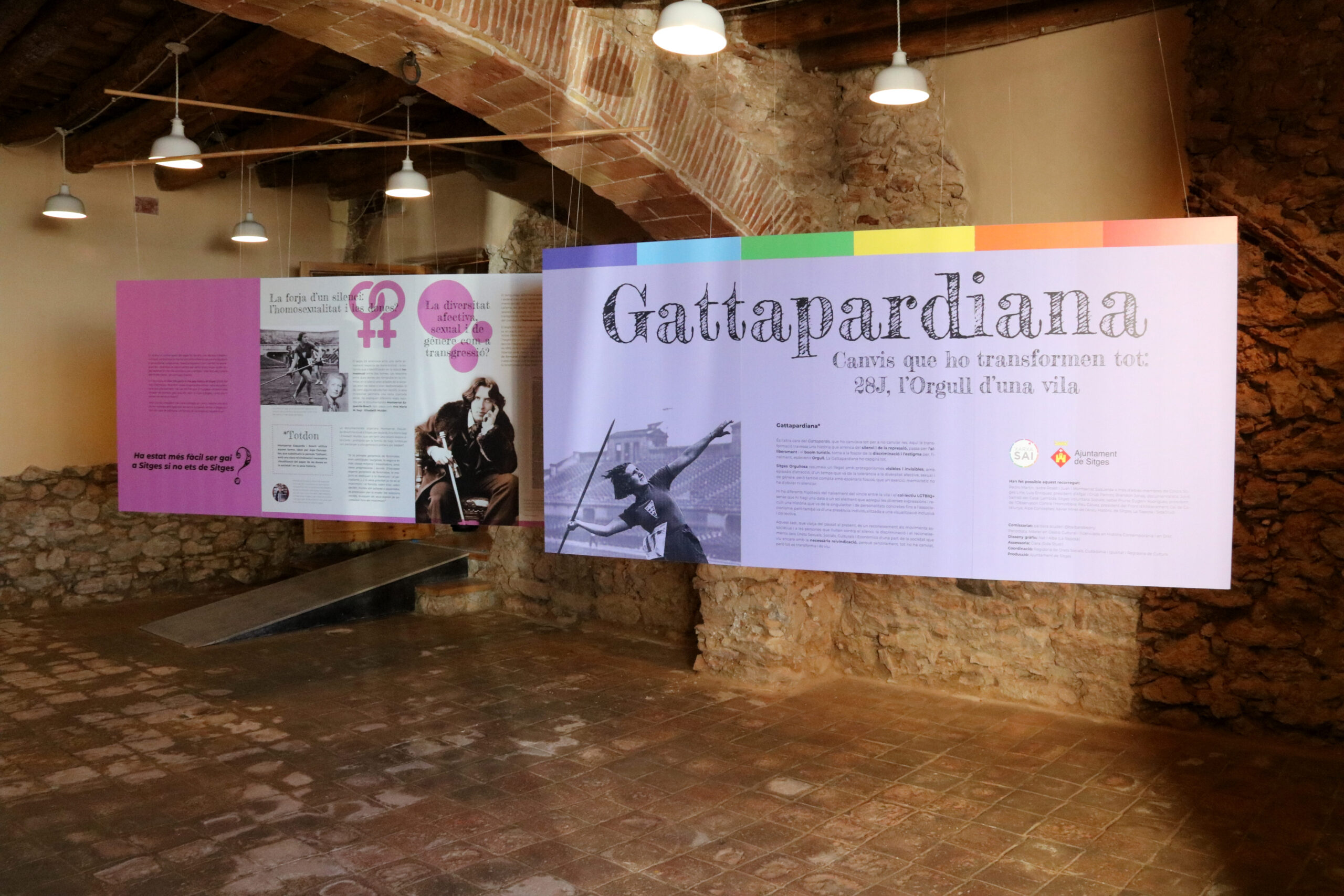 L'exposició de Sitges 'Gattapardiana: l'Orgull d'una vila' / ACN