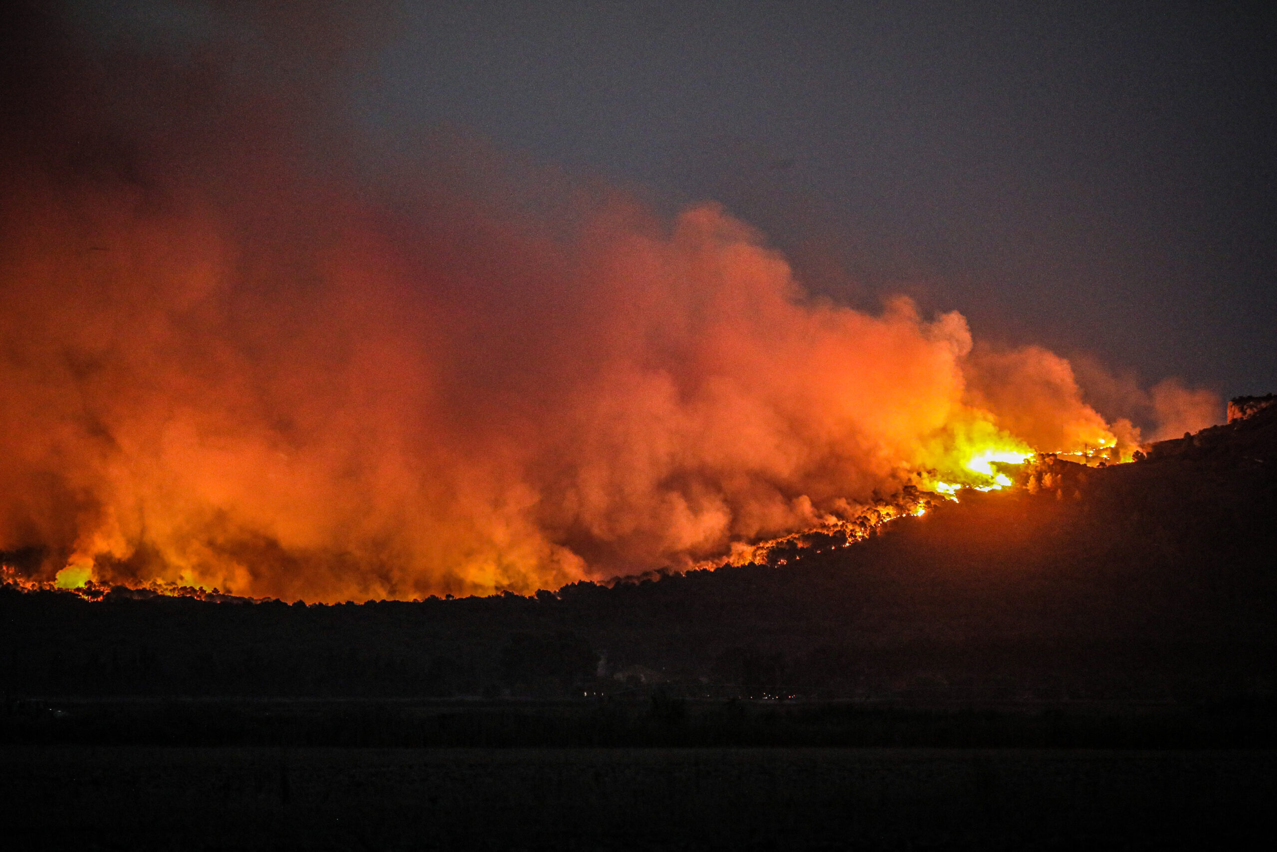 L'incendi de Montgrí / Jordi Borràs