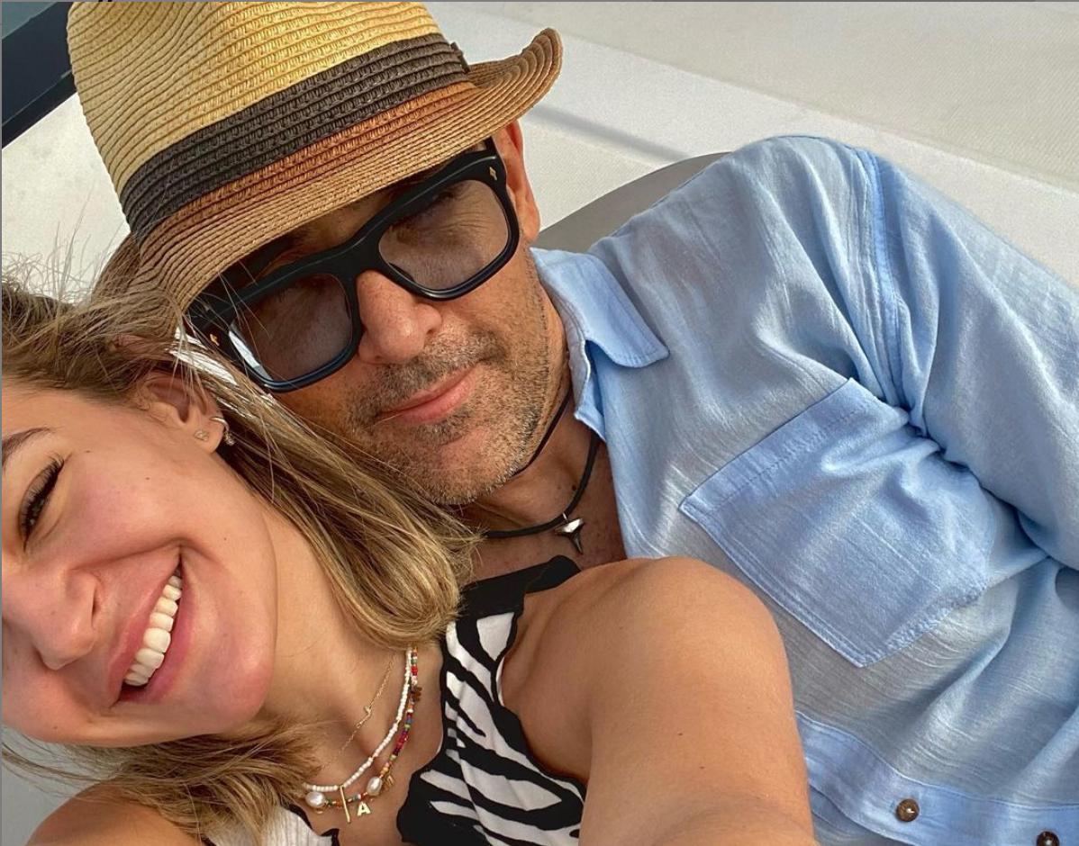 Laura Escanes i Risto Mejide   Instagram Laura Escanes