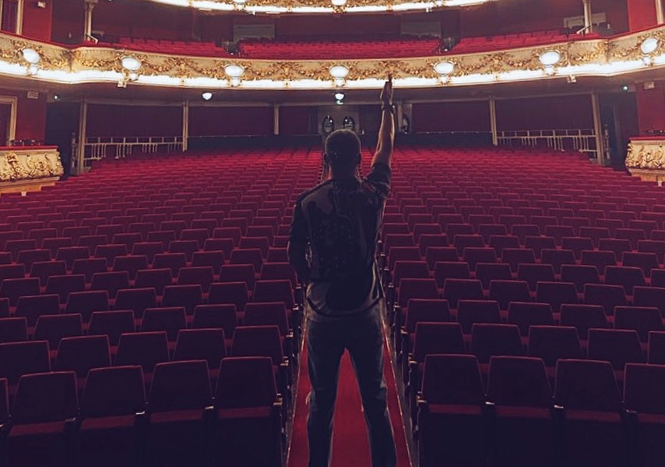 Jorge Javier Vázquez al Teatre Tívoli   Instagram